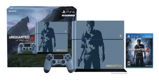 PS4 1TB Limited Edition Uncharted 4: Путь вора