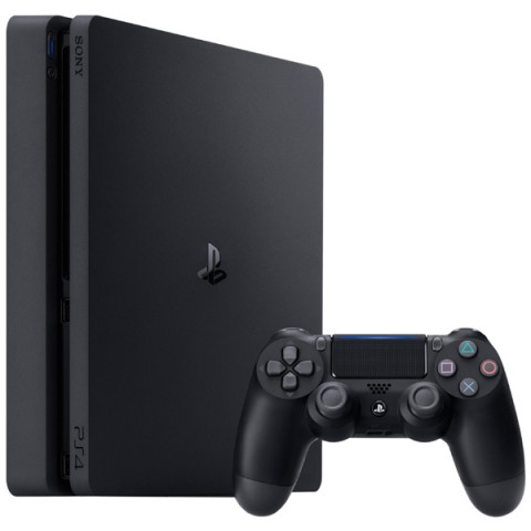 Sony PlayStation 4 (PS4) Slim 500Gb (EU) Черная