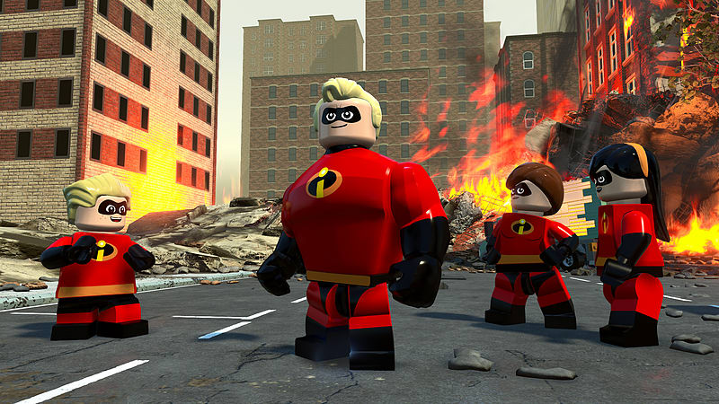 LEGO Суперсемейка (The Incredibles)