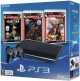 Sony PlayStation 3 (PS3) Super Slim 500Gb (RUS) + Heavy Rain + Gran Turismo 5 + Uncharted 3