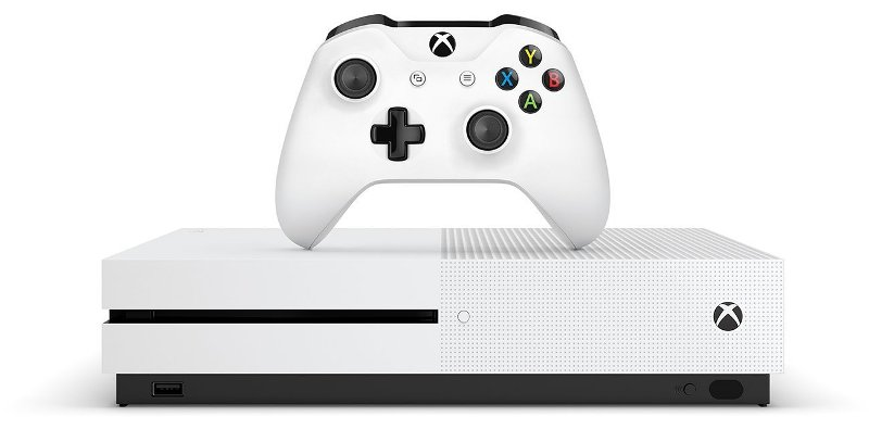 Microsoft Xbox One S 500GB (RUS) + игра Minecraft Favorites