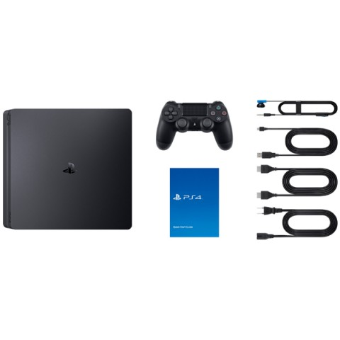 Sony PlayStation 4 (PS4) Slim 1Tb (RUS) Черная + Driveclub + Uncharted 4 + Ratchet & Clank